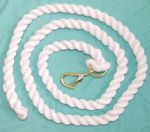 White Cotton Lead Ropes